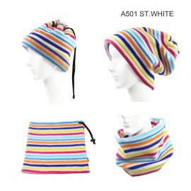 UNISEX FLEECE HAT/NECK COVER