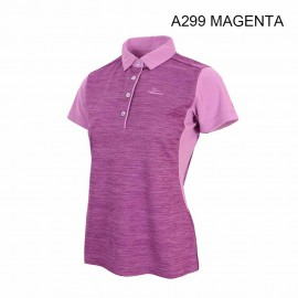 LADIES POLO SHORT T-SHIRT