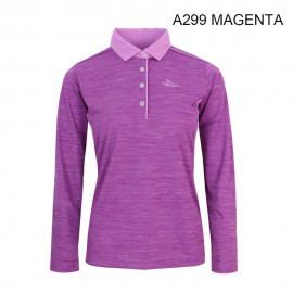 LADIES POLO LONG T-SHIRT