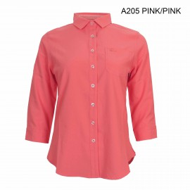 LADIES UV PROTECTION QUICK DRY ANTI MOSQUITOES MID-SLEEVE SHIRT