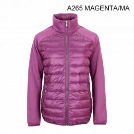 LADIES 90/10 GOOSE DOWN/FLEECE JACKET