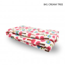 PRINTED FLEECE BLANKET ( 73.5cm x 102cm )