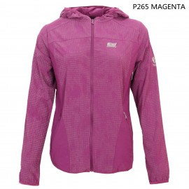 LADIES PRINT UV PROTECTION AND WATER REPELLENT HOOD JKT