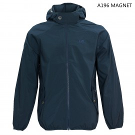 MEN UV PROTECTION SEAMED HOODIE JACKET