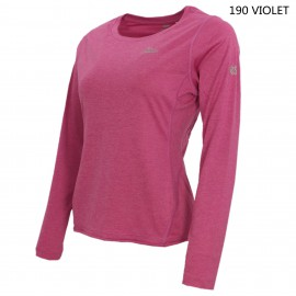 LADIES QUICK DRY AND UV PROTECTION Long-Sleeve Round Neck T-Shirt