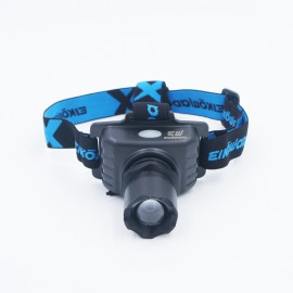 800流明LED頭燈 (強白光/弱白光, 可接USB充電) 800 Lumen LED Headlamp (USB rechargeable) 800流明LED头灯 (强白光/弱白光,可接USB充電)