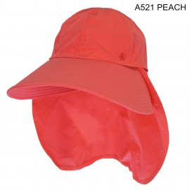 中性大闊邊漁夫帽 Bucket hat with Flap Neck Cover 中性大阔边渔夫帽