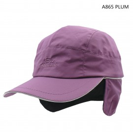 中性硬額鴨咀帽(3M反光邊)(FLEECE帽裡) UNISEX HARD CAP (3M+FLEECE LINING)