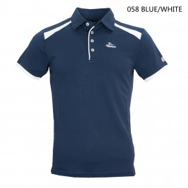 MEN'S POLO SHORT T SHIRT 男裝短袖POLO領撞色T恤